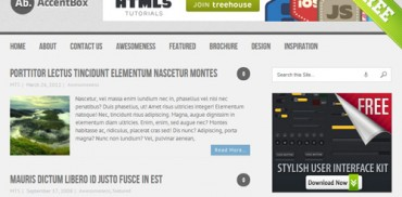 Accentbox WordPress Theme
