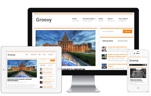 Groovy - Free Responsive WordPress Blog Theme @ MyThemeShop