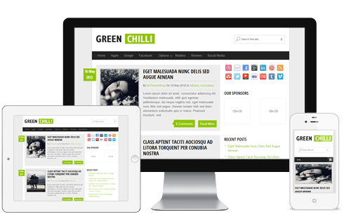 GreenChilli WordPerss Theme