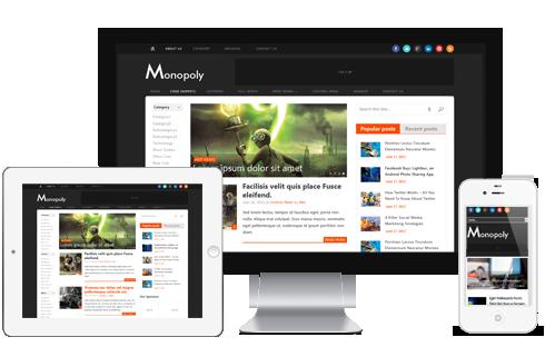 Monopoly - Responsive WordPress Blog Theme @ MyThemeShop