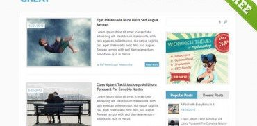 Great WordPress Theme