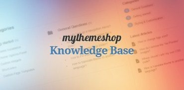 MyThemeShop Knowledge Base