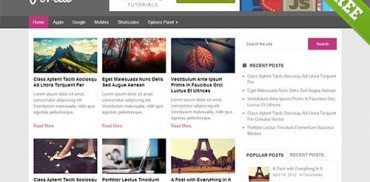Portal WordPress Theme