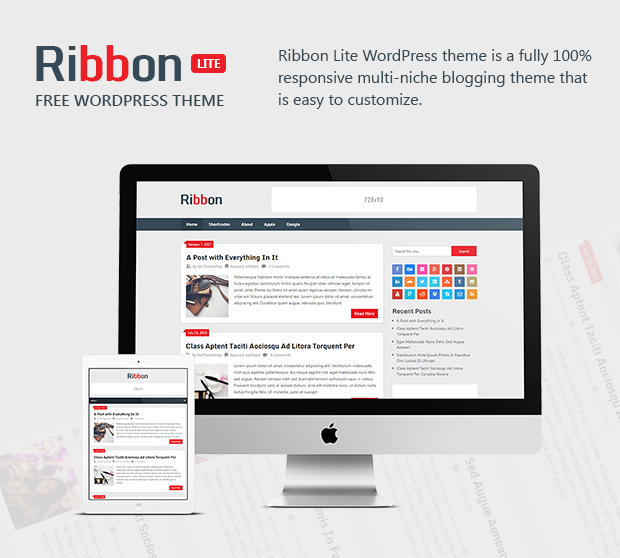 Ribbon - Free Responsive WordPress Magazine Theme @ MyThemeShop