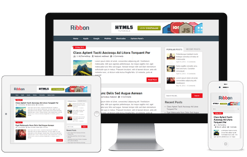 Ribbon WordPress Theme