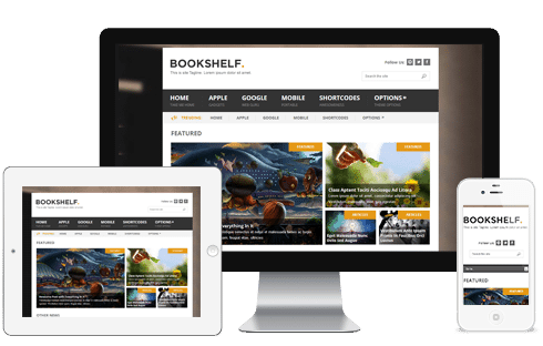 Bookshelf WordPress Theme