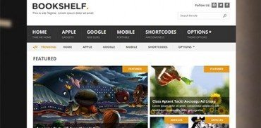 Bookshelf WordPress Theme