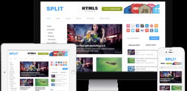 Split WordPress Theme