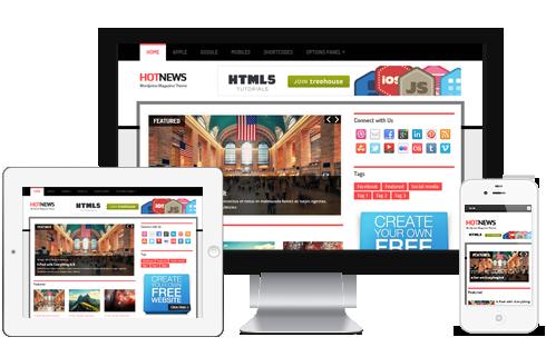 HotNews - News Magazine Responsive WordPress Theme @ MyThemeShop