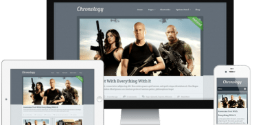 Chronology WordPress Theme