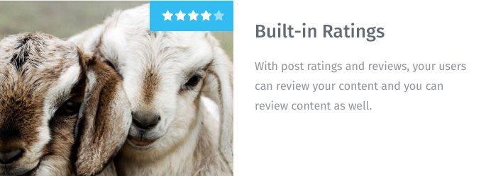 Built-in Ratings
