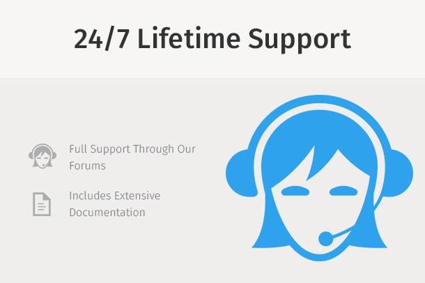 Support Header