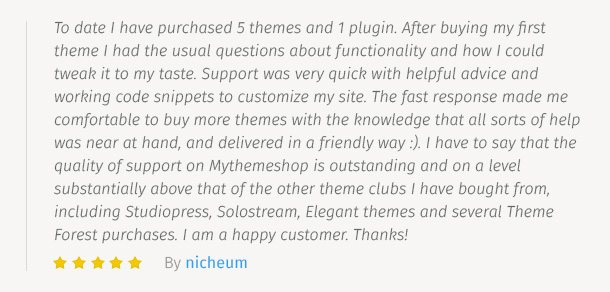 MyThemeShop Testimonial 4