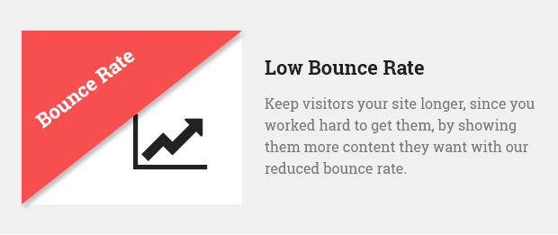 Low Bounce Rate