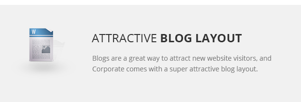 Attractive Blog Layout