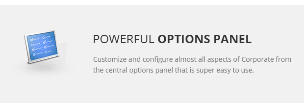 Powerful Options Panel