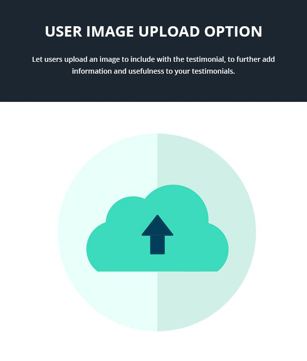 User Image Upload Option