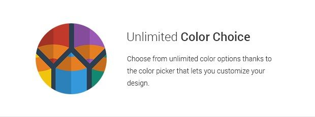 Unlimited Color Choice