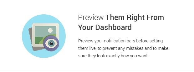 Preview Them Right from your Dashboard