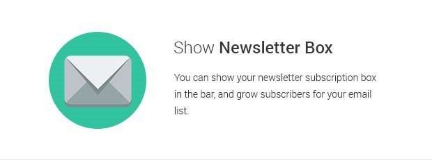 Show Newsletter Box