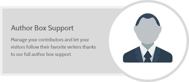Author Box Support