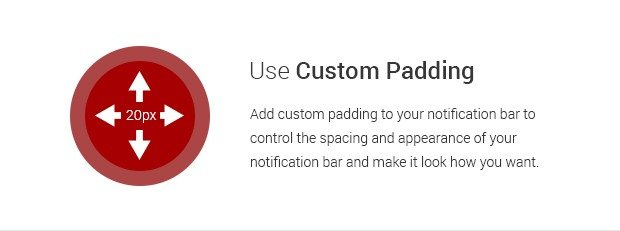 Use Custom Padding