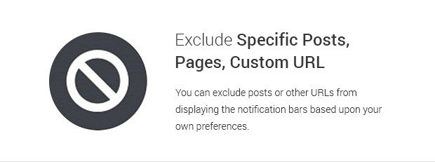 Exclude Specific Posts Pages Custom URL