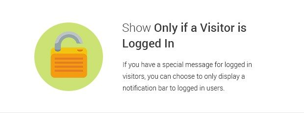 Show Only if a Visitor is Logged in