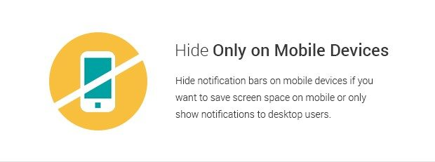 Hide Only on Mobile Devices