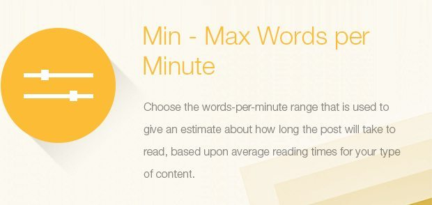 Min-Max Words Per Minute
