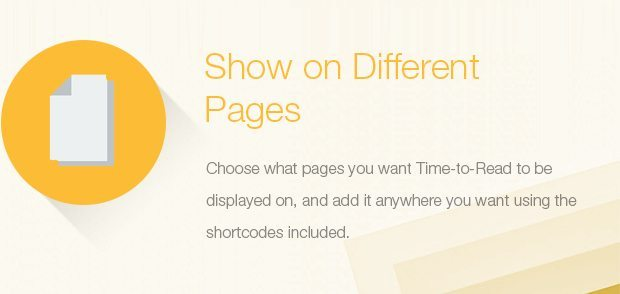 Show on Different Pages