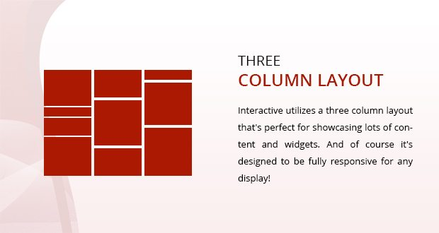 Three Column Layout