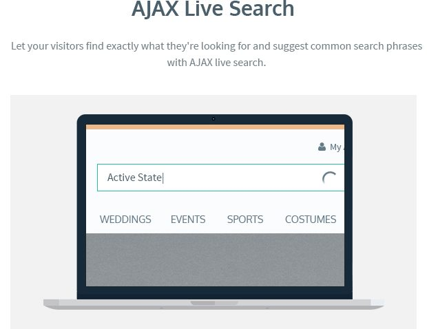 AJAX Live Search