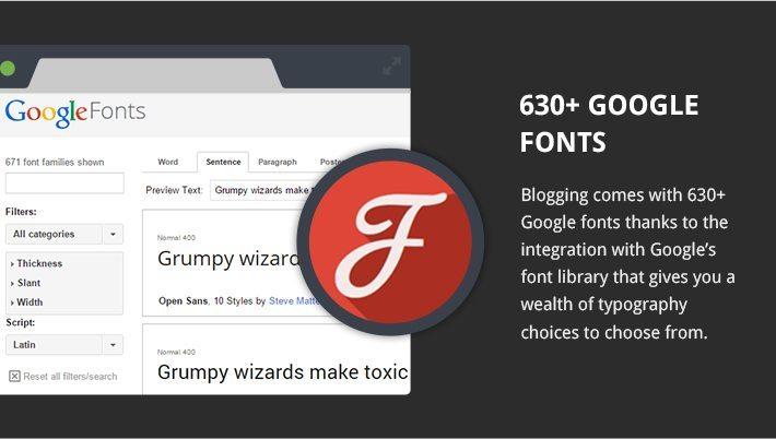 630 Plus Google Fonts