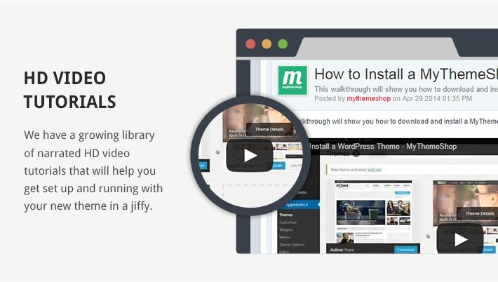 Download video tutorial for wordpress