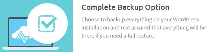 Complete Backup Option