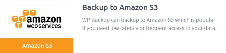 Backup to Amazon S3