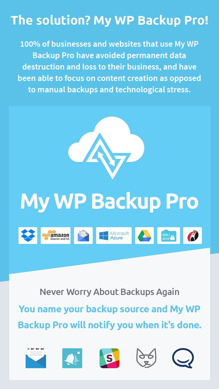 My-WP-Backup-Pro-Solution