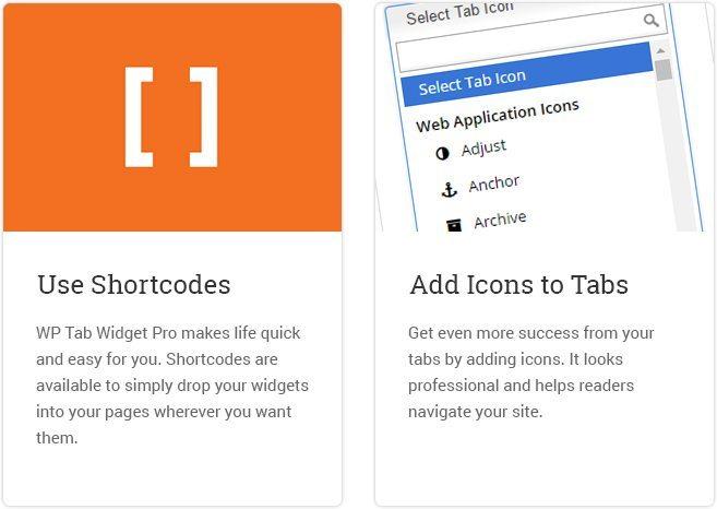 Use Shortcodes