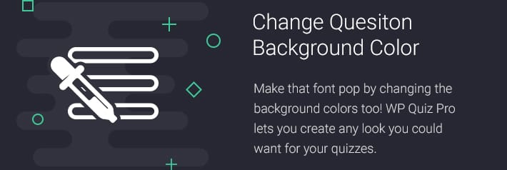 Change Quesiton Background Color
