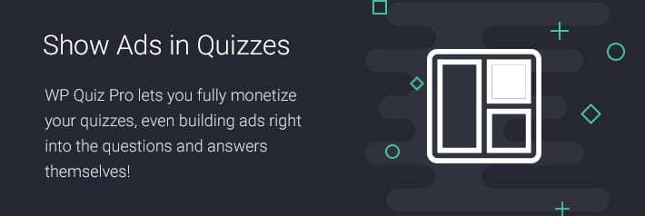Show Ads in Quizzes