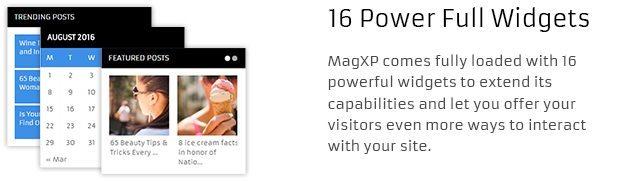 16 Power Full Widgets