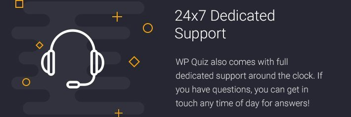 24x7 Dedicated Support