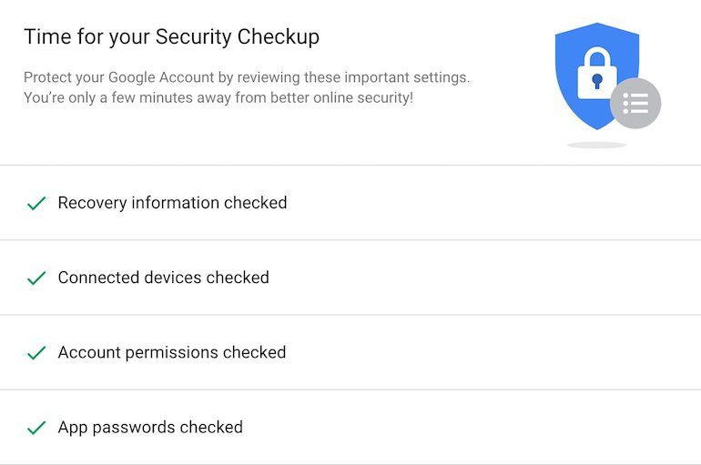 google-security-checkup