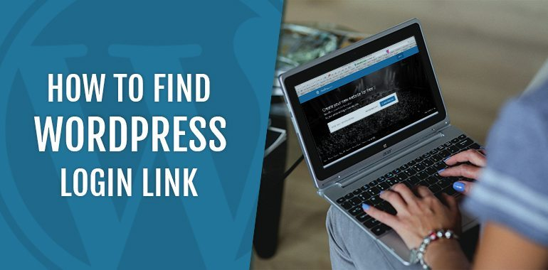How to find WordPress Login Link