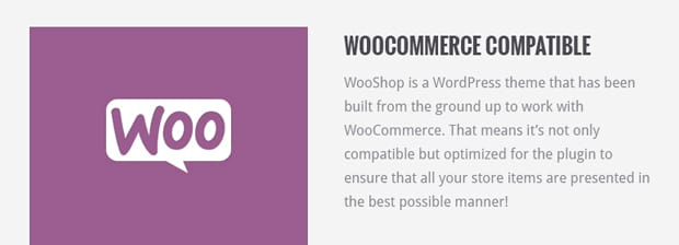 WooCommerce Compatible