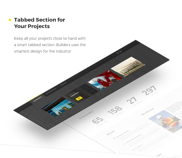 Tabbed Section For Your Projects
