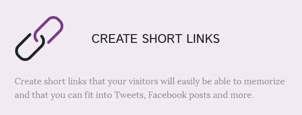Create Short Links