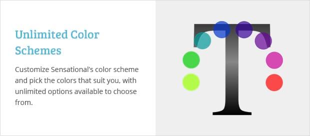 Unlimited Color Schemes