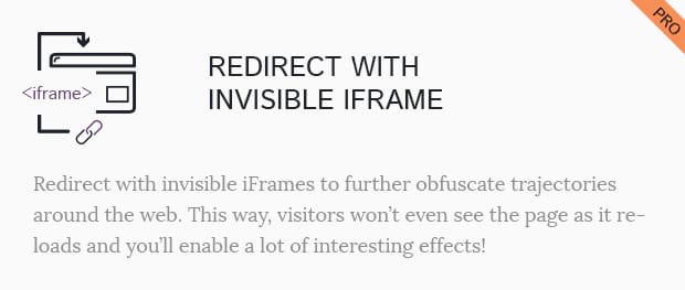 Redirect With Invisible iFrame
